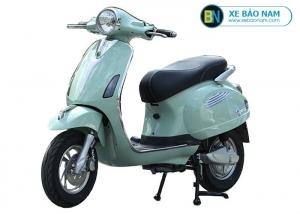 Xe máy điện Vespa Xyndi màu xanh ngọc