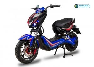 Xe máy điện Xmen Hunter Osakar màu đỏ +xanh lam