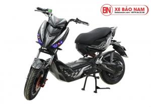 Xe máy điện Xmen Hunter Osakar màu đen tem xám