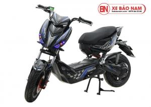 Xe máy điện Xmen Hunter Osakar màu đen tem xanh lam