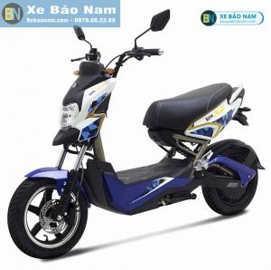 Xe máy điện Z1 SYM màu xanh