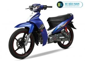 Xe máy 50cc Sirius FIFI màu xanh