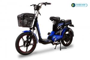 Xe đạp điện Osakar A9 màu đen tem xanh