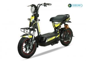 Xe máy điện Osakar S8 Sport màu vàng tem xám