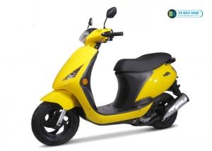 Xe ga Zipi 50cc đời mới màu vàng