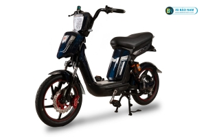 Xe đạp điện Cap A Alpha Osakar xanh xám