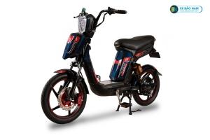 Xe đạp điện Cap A Alpha Osakar xanh tem đỏ