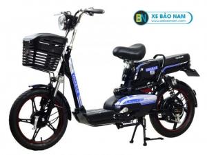Xe đạp điện Osakar A8 màu đen tem xanh