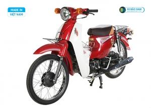 Xe máy 50cc Cub Detect màu đỏ