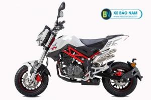 Xe máy Benelli TNT 125 màu trắng