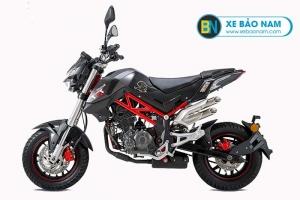 Xe máy Benelli TNT 125 màu đen