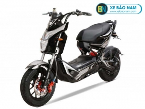 Xe máy điện Osakar One 1 Xmen màu đen bạc