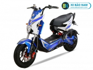 Xe máy điện Osakar One 1 Xmen màu trắng xanh
