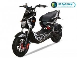 Xe máy điện Osakar One 1 Xmen màu xanh bạc rằn ri