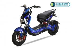 Xe máy điện Xmen Kuhama màu xanh
