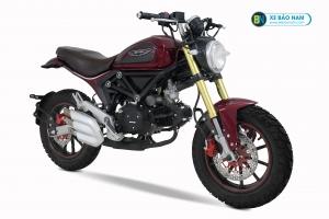 Xe Máy Ducati Scrambler 110cc màu mận