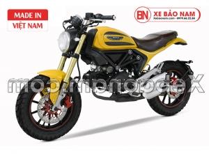 Xe Máy Ducati Scrambler 110cc màu vàng