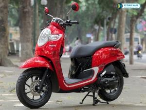 Xe ga Scoopy 110cc màu Đỏ