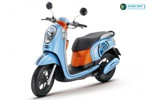 Xe scoopy 110cc màu xanh ngọc