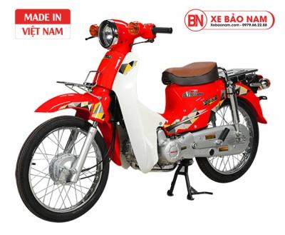 Xe Cub 81 Halim 2019 màu đỏ