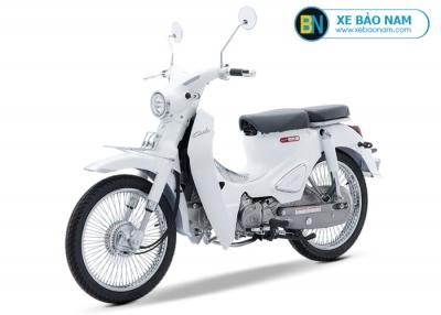 Xe máy Cub Classic 50cc màu trắng 2019
