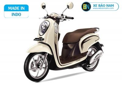 Xe scoopy Indo 110cc màu vàng