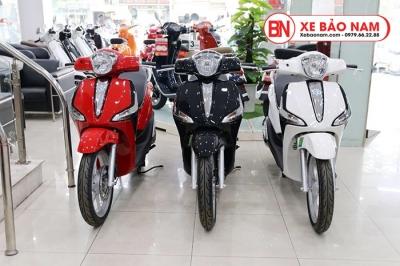 Xe ga Piaggio Liberty 50cc màu đỏ 2020