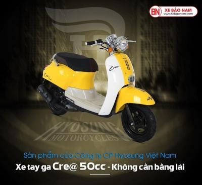 Xe ga 50cc Crea Hyosung