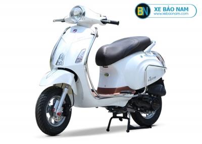 Xe ga 50cc Vespa Espero Detech màu trắng