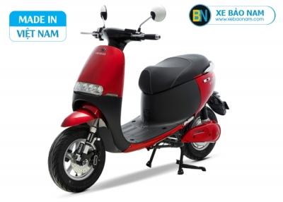 Xe máy điện Gogo osakar màu đỏ mận