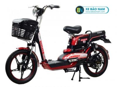 Xe đạp điện Osakar A8 màu đỏ
