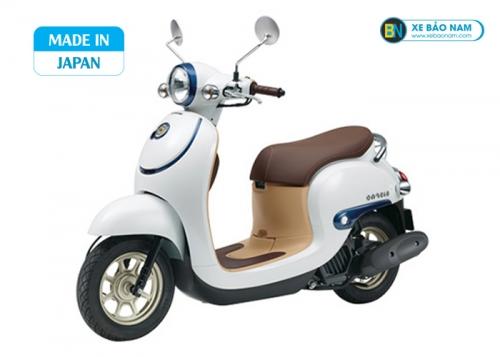 Xe ga 50cc Honda Giorno Nhật Bản Nhập khẩu màu trắng viền xanh