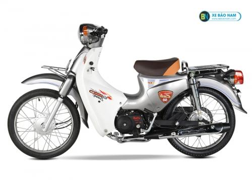 Xe Cub 81 màu bạc