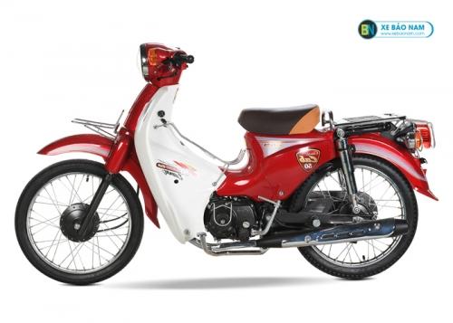 Xe Cub 81 màu đỏ mận