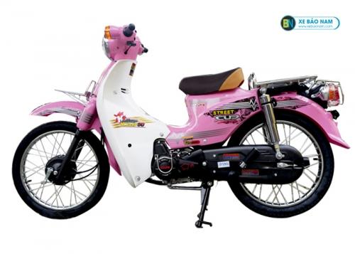 Xe Cub 81 màu hồng