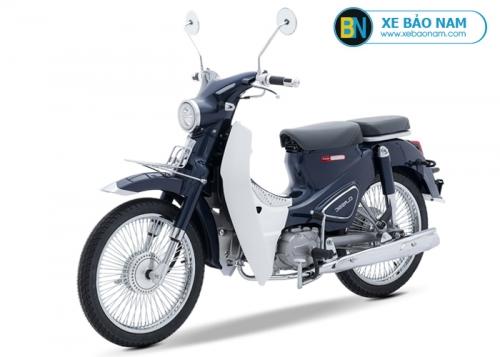 Xe máy Cub Classic 50cc màu xanh cửu long 2019