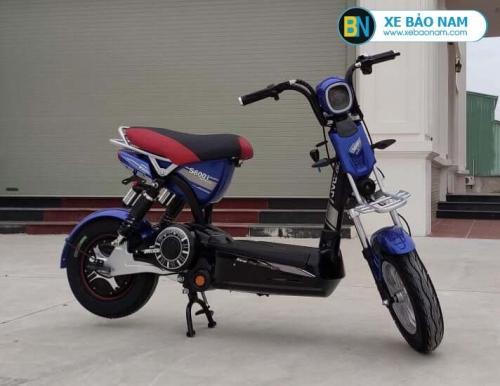 Xe máy điện M133 S600 JVC màu xanh