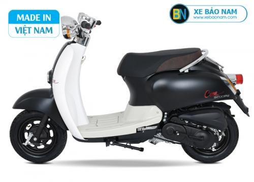 Xe ga 50cc Crea màu đen nhám 2019 new