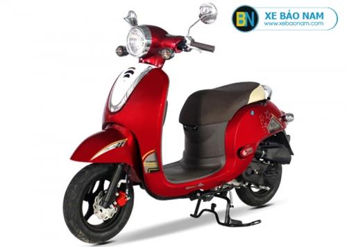 Xe ga 50cc Giorno Detech màu đỏ