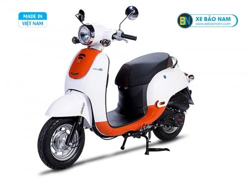 Xe Ga 50cc Giorno New Màu Cam Trắng (Hết hàng)