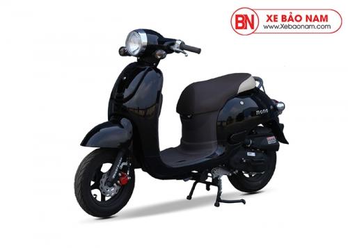Xe ga 50cc Mono phanh đĩa màu đen bóng