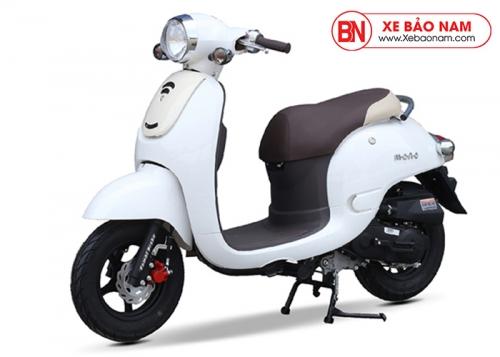 Xe ga 50cc Mono phanh đĩa màu trắng