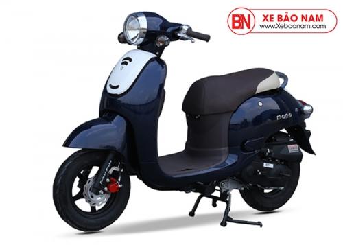 Xe ga 50cc Mono phanh đĩa màu xanh cửu long