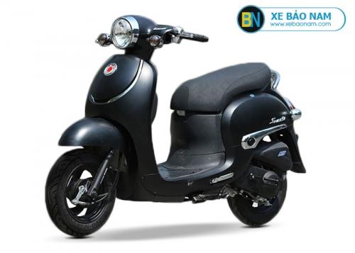Xe ga 50cc Giorno Smile màu đen đời mới 2019