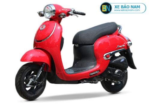 Xe ga 50cc Giorno Smile màu đỏ đời mới 2019