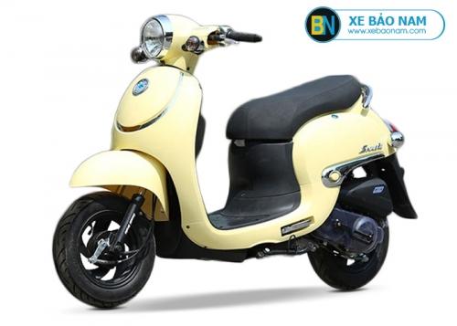 Xe ga 50cc Giorno Smile màu vàng đời mới 2019