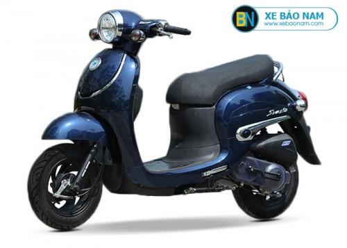 Xe ga 50cc Giorno Smile màu xanh đời mới 2019