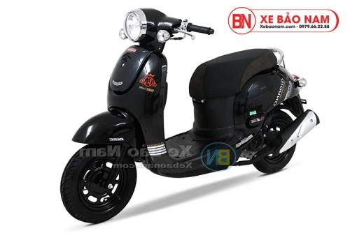 Xe ga 50cc Giorno 2 (Tem chìm) 2019 màu đen bóng