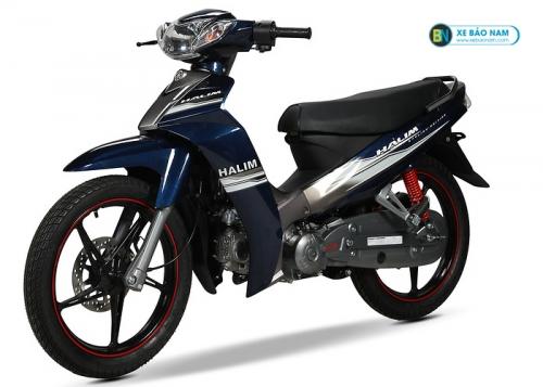 Xe máy 50cc Sirius màu xanh