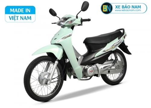 Xe máy Wave 50cc Halim màu xanh ngọc